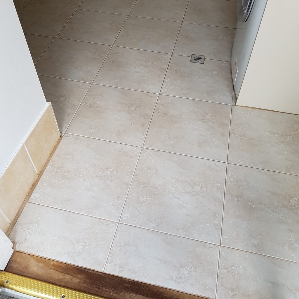 13 year old Natural Stone Tiles Cleaned & Sealed