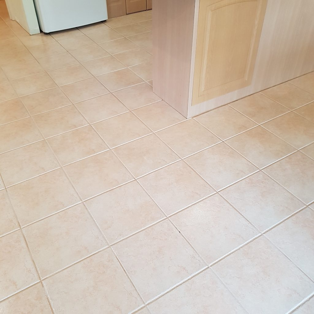 25 year old Porcelain Tiles Cleaned & Sealed