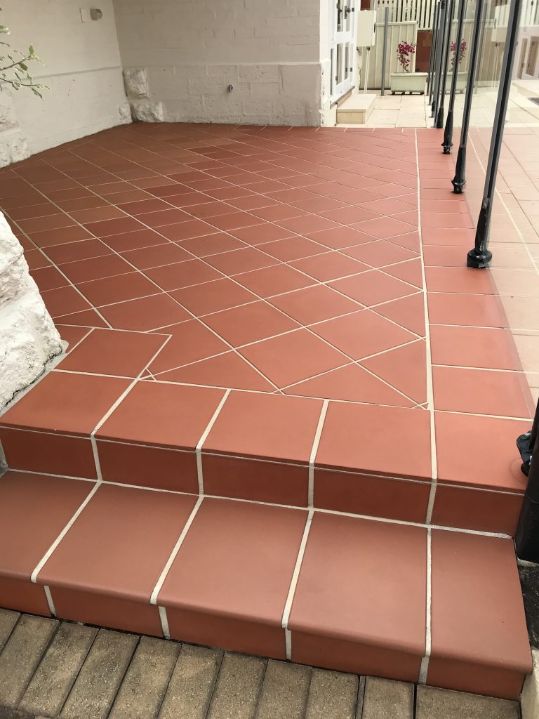 36 year old Terracotta Tiles Cleaned & Sealed