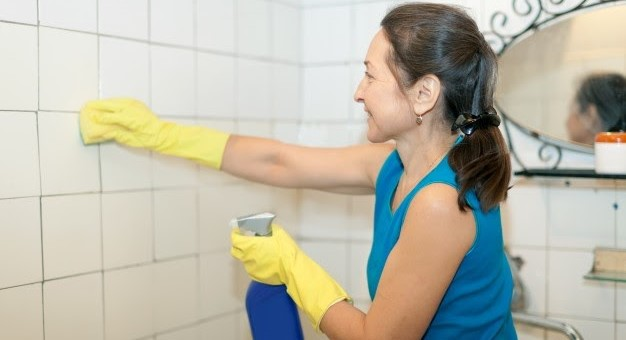 DIY Tile Cleaning